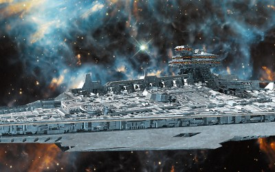 A very large cruiser for a Space game