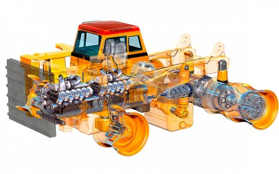 Mining Truck Cutaway for Shell Oil